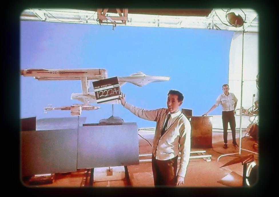 باري أثناء عمله في مسلسل ستار تريك