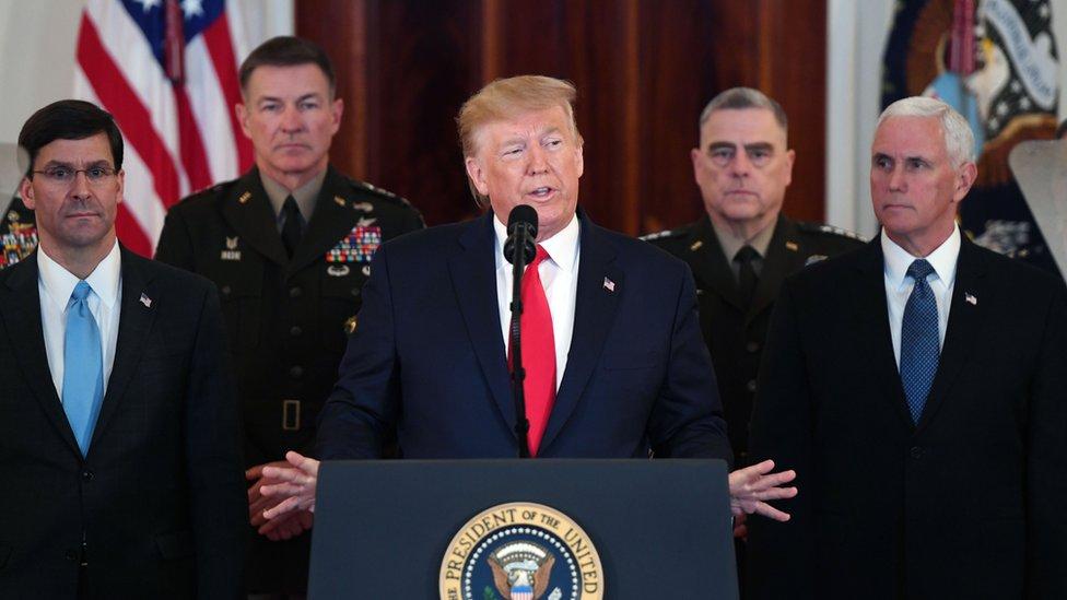 أكد الرئيس الأمريكي عدم سقوط أي قتلى عقب استهداف طهران لقواعد عسكرية تضم جنودا أمريكيين