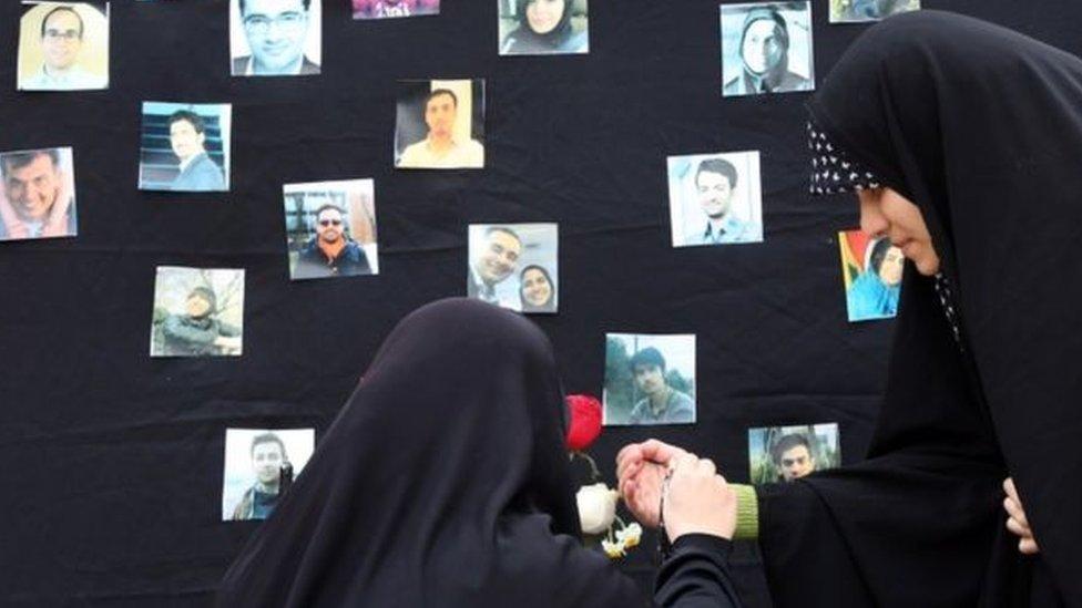 ضحايا الطائرة الأوكرانية