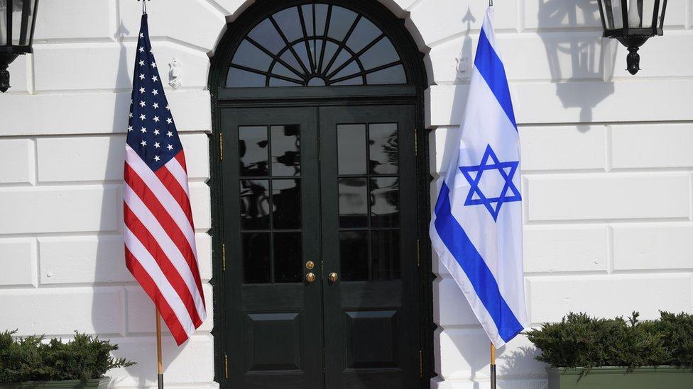استقبال نتنياهو في البيت الأبيض