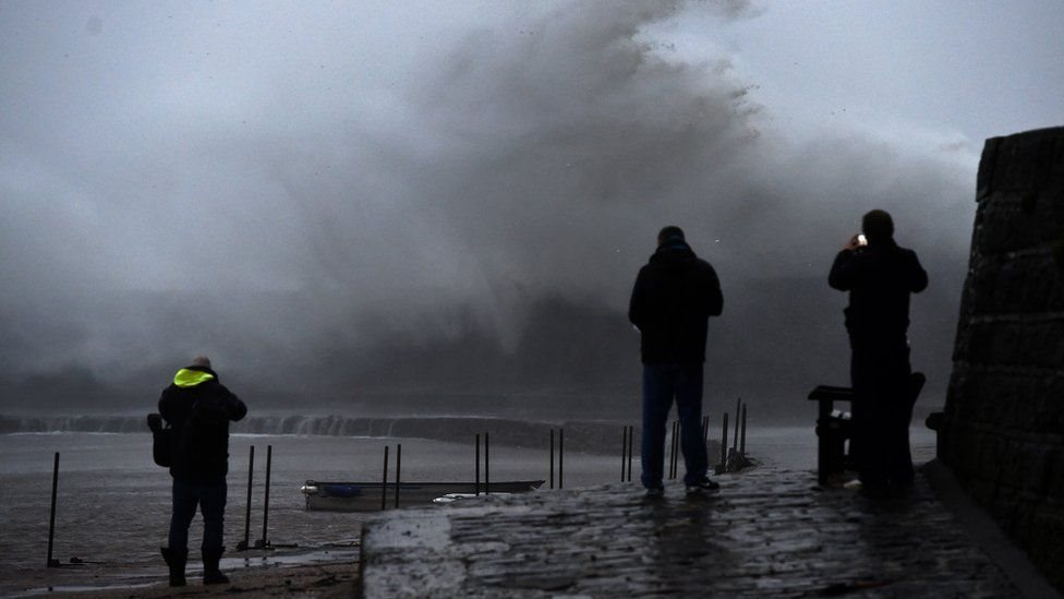 العاصفة كيارا