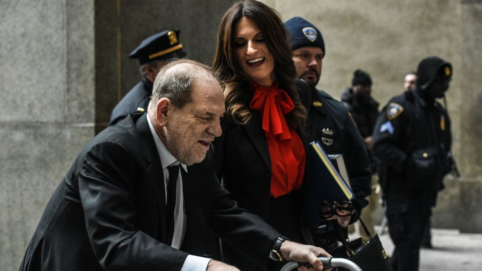 دونا روتونو مع هارفي واينستين