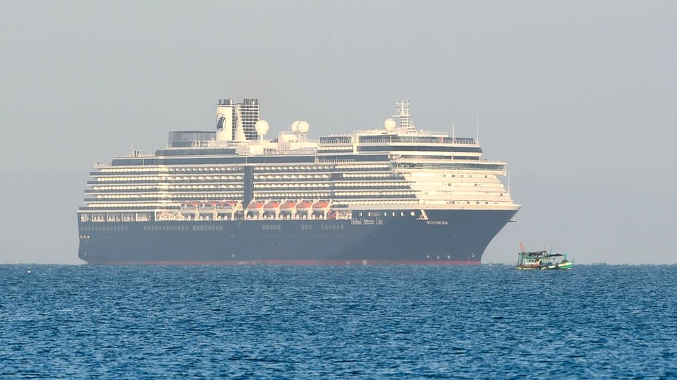 """السفينة السياحية """"إم إس ويستردام"""""""
