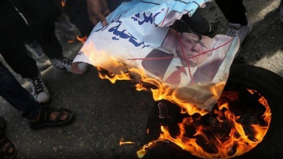 خطة ترامب تنقسم دول عربية بشأنها