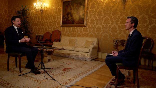 رئيس الوزراء الإيطالي أكد لبي بي سي أن ما حدث بسبب كورونا يعد أكبر تحد للقارة منذ الحرب العالمية الثانية