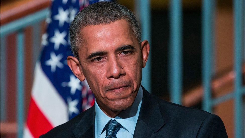 Obama in 2016
