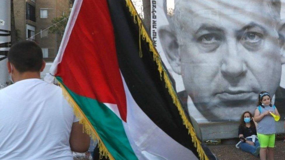 يقول نتنياهو إن المستوطنات ستصبح جزءا من إسرائيل