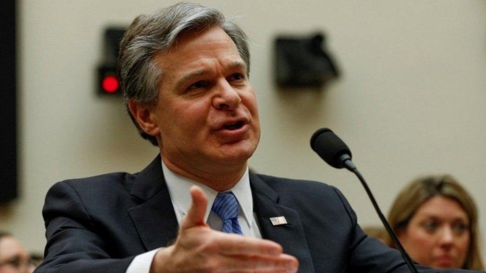 """مدير مكتب التحقيقات الفيدرالي الأمريكي """"اف بي آي"""" كريستوفر راي"""
