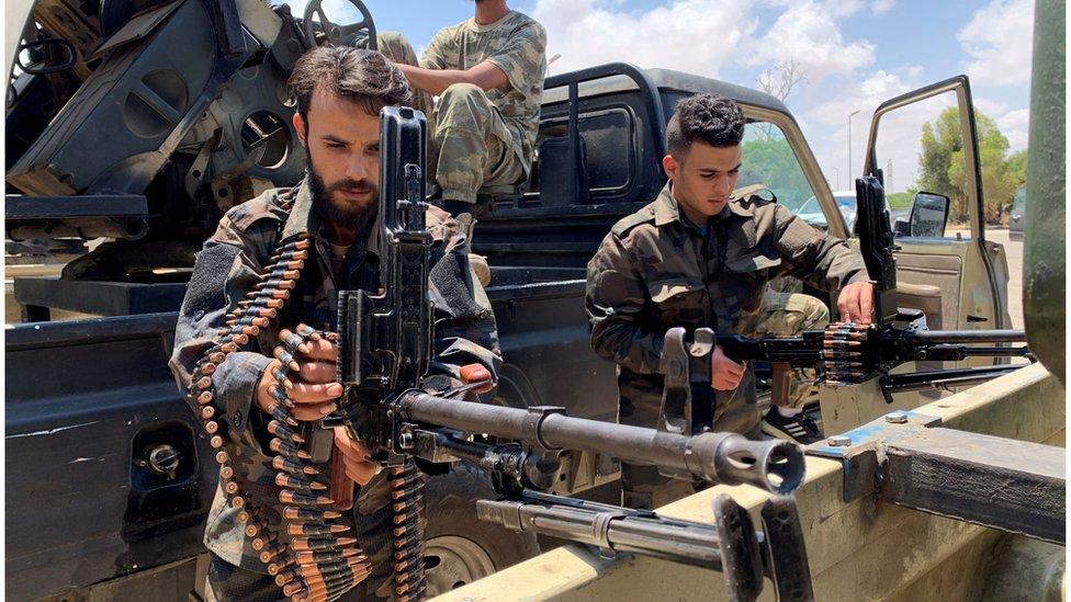قوات تابعة لحكومة الوفاق الوطني