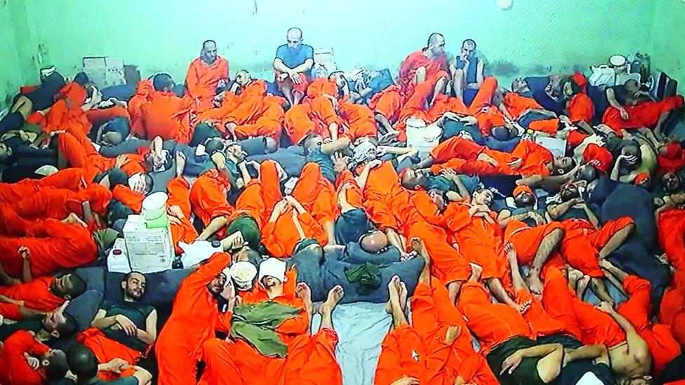 زنزانة في السجن حيث كان مصطفاوي محتجزاً