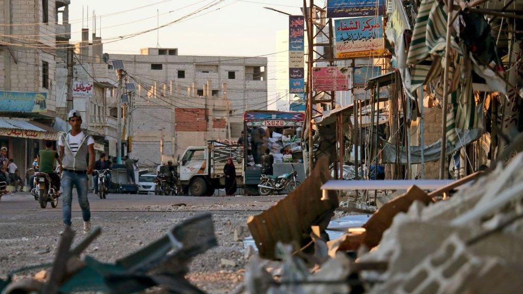 منطقة ناوا، الجنوب السوري