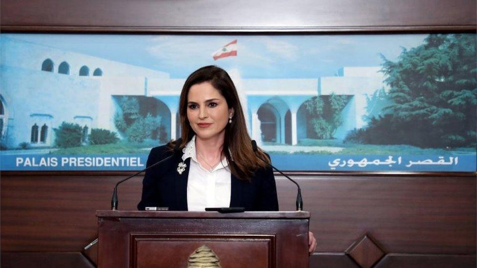 وزيرة الإعلام المستقيلة منال عبد الصمد