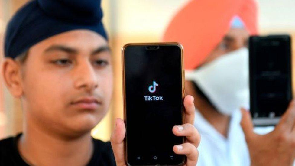 تطبيق تيك توك الصيني