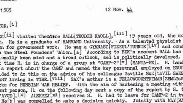 رصدت السلطات الأمريكية رسائل مشفرة منذ عام 1944