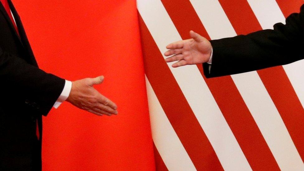 مصافحة أمريكية صينية