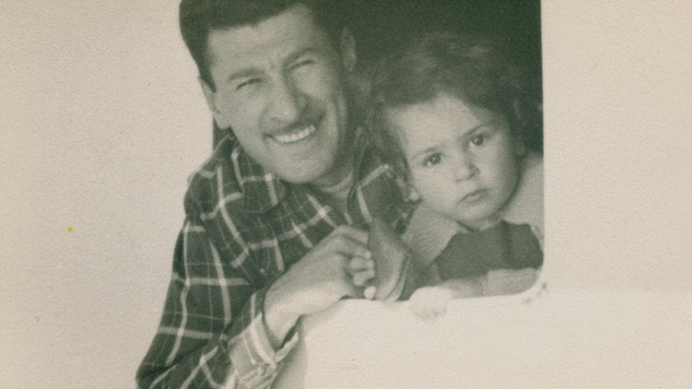 إدي جاكو وابنه