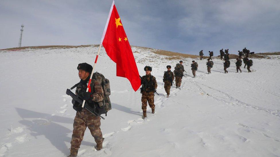 جنود صينيون