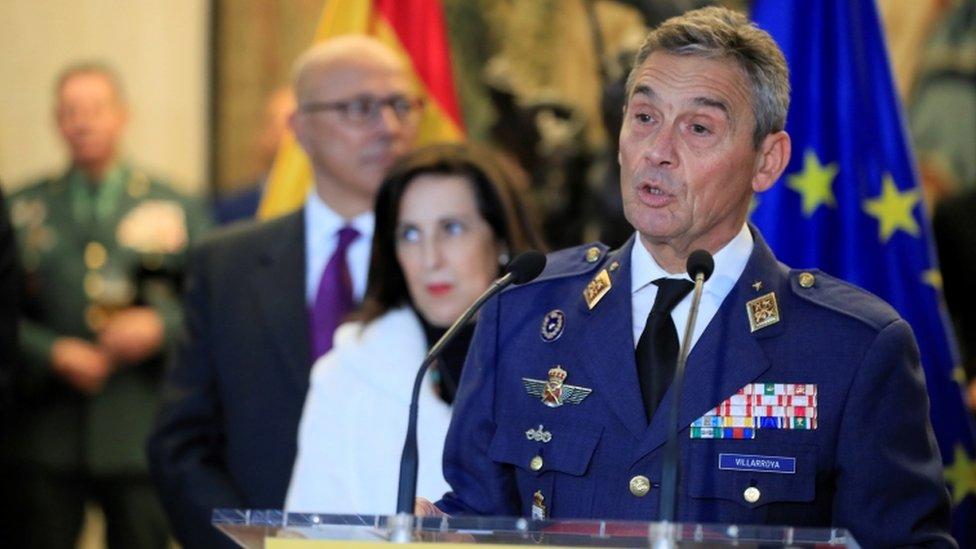 رئيس أركان الجيش الإسباني ميغيل أنخل فيلارويا