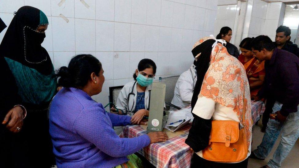 في عام 2019، أفيد بوقوع 923,037 حالة إصابة و 1,911 حالة وفاة في 31 بلدا وبضمنه الهند، بحسب تقرير منظمة الصحة العالمية