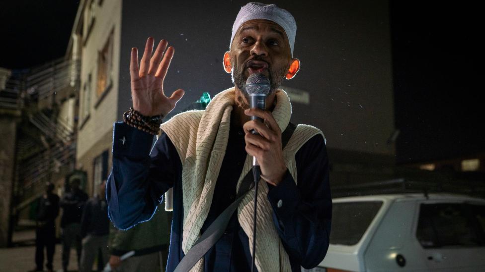 الشيخ حسن باندي في ماننبرغ ، كيب تاون - جنوب إفريقيا