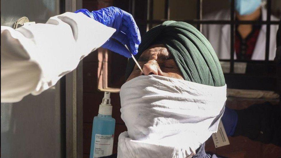 يوجد بالهند ثالث أكبر عدد من الحالات المؤكدة في العالم