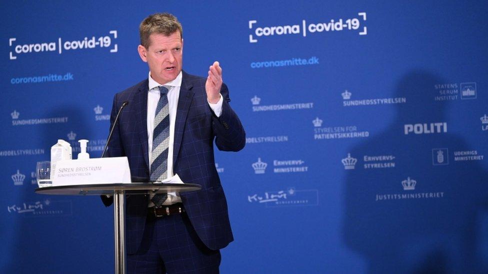 سويرين بروسترويم، رئيس المجلس الوطني للصحة في الدنمارك