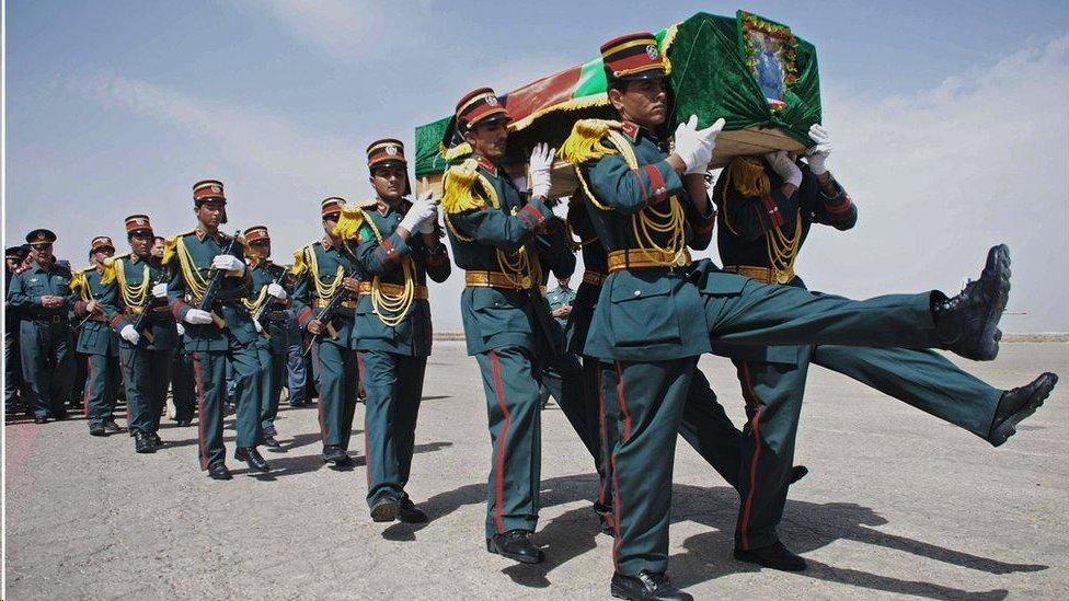 تكبدت قوات الأمن الأفغانية خسائر فادحة في الأرواح