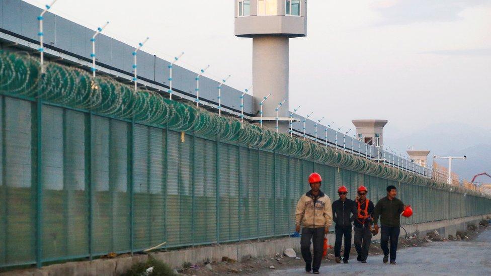 مركز احتجاز في الصين