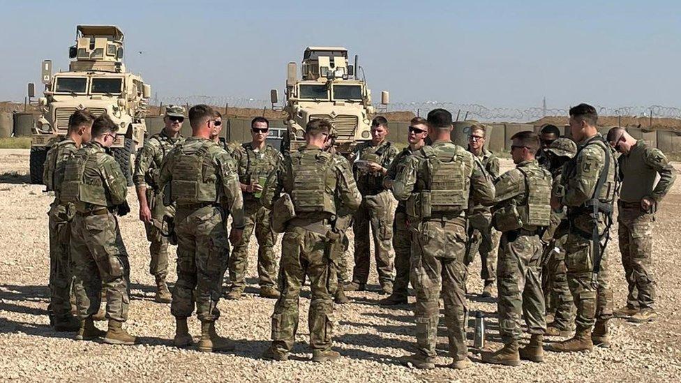 تم نشر قوات الحرس الوطني القادمة من ولاية لويزيانا في شمال شرق سوريا