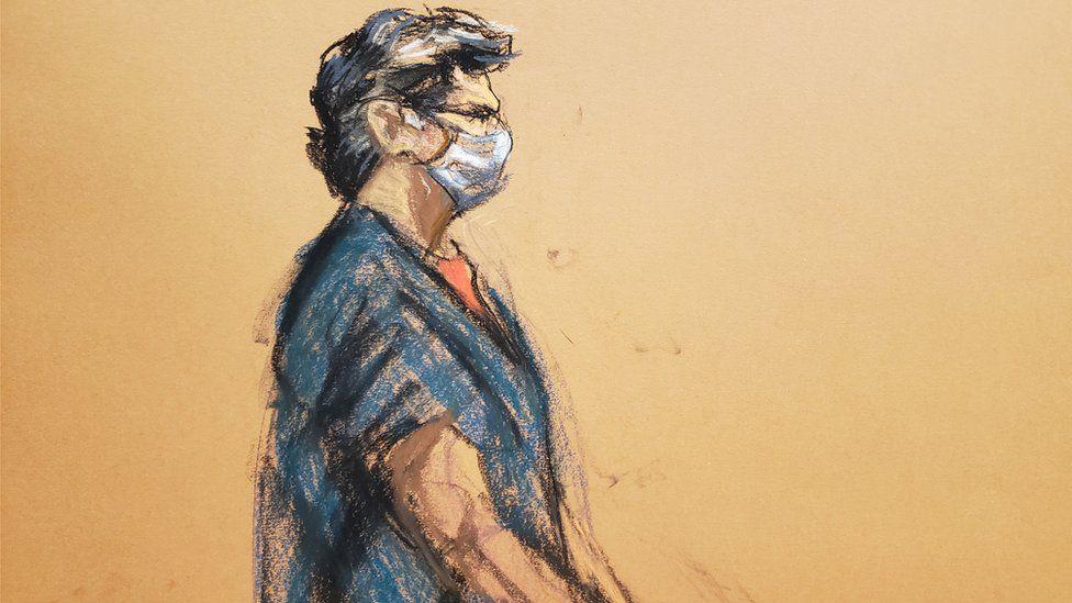 كيث راينر قائد طائفة نكسيوم خلال محاكمته في أكتوبر/ تشرين الأول الماضي