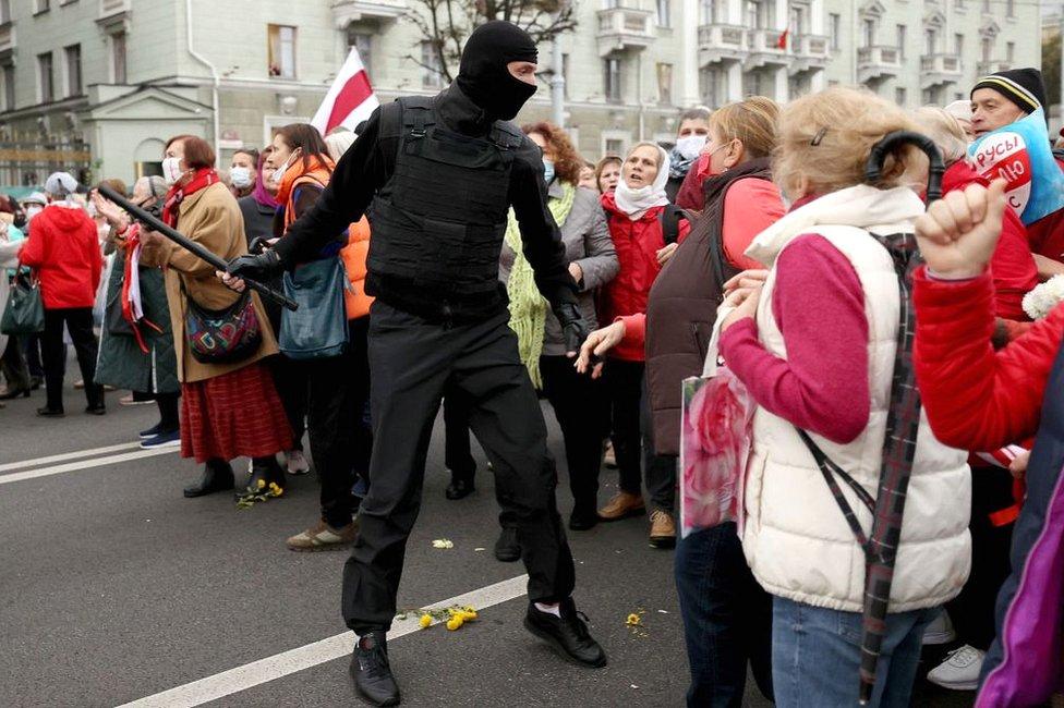مظاهرة ضد الحكومة العام الماضي