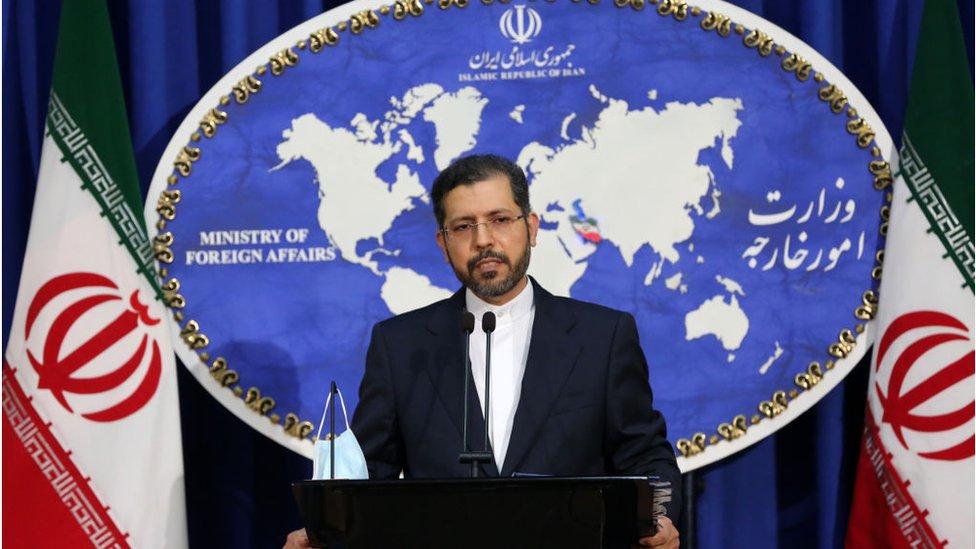 المتحدث باسم وزارة الخارجية الإيرانية، سعيد خطيب زاده