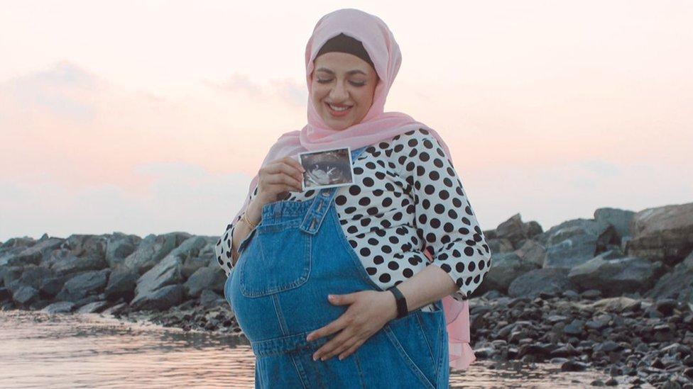 سلمى خلال الحمل
