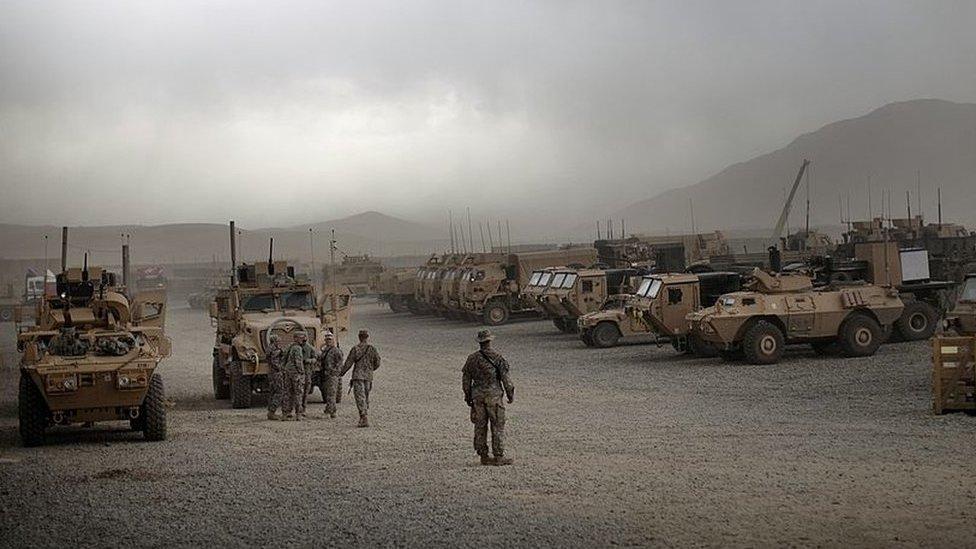جنود أمريكيون في موقع عام 2009