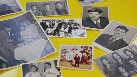 صور قديمة لبعض العائلات اليهودية في البحرين في بدايات القرن الماضي