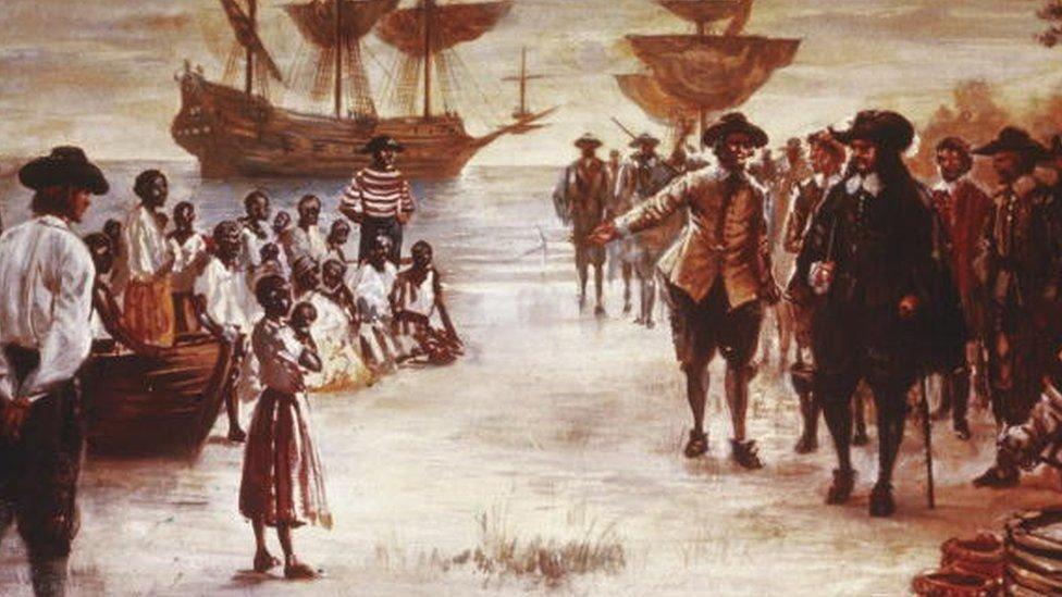 كانت السفن الهولندية تنقل العبيد عبر المحيط الأطلسي لأكثر من 200 عام